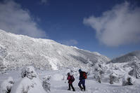 雪山にて - デジタルで見ていた風景