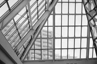 ガラスの天井とメガネ拭きと H ルーペ - 照片画廊