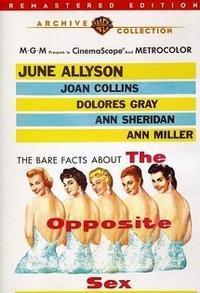 「The Opposite Sex」(1956) - なかざわひでゆき の毎日が映画三昧