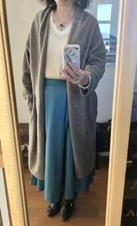 厳冬の定番服 - 着まわせない