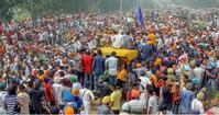 農民デモの現状と私の日常あれこれ - Blue Lotus