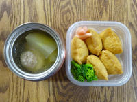 今週の弁当と、今朝の霞ヶ関駅 - マイニチ★コバッケン