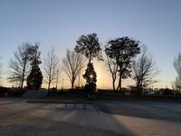 ダイアリー2021年1月14日の夕暮れ - 散歩ガイド
