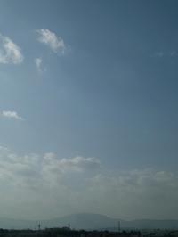 朽木小川生活・・・空と霜 - 朽木小川より 「itiのデジカメ日記」 高島市の奥山・針畑からフォトエッセイ