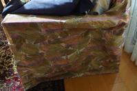冬の日の布仕事 - うまこの天袋