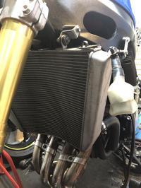 ラジエーターの取り付けとLLC交換 - 後輪駆動