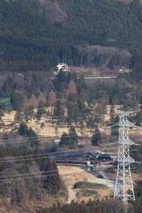 鉄塔と鉄橋- 2020年冬・東武鬼怒川線 - - ねこの撮った汽車