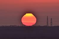 真っ赤な太陽~今週のウトナイ湖+プレミアムバンダイに苦言申す! - やぁやぁ。