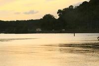 宵闇迫る湖畔を走る - ゆる鉄DEイコー!