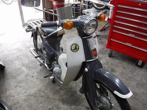 C70あんどん いろいろメンテナンス - モーターヘッド サイクルショップ