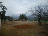 冬の公園 - 日々の風景