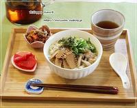 例のお鍋でおうちランチは塩ラーメン♪ - ☆Happy time☆