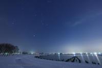 雪原と星の世界 - デジタルで見ていた風景