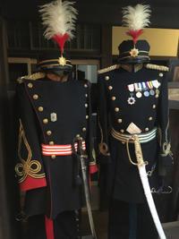 陸軍将校用正装一式を着付けする。 - 軍隊屋「前さん」今日の一人言!