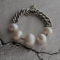 【訳あり特価】極大粒真珠のカジュアルブレスレット - 吉屋 Photo Blog