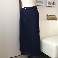 デニムのスカート・完成 - もりおのかたすみ