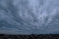 曇り空の主役は不透明雲(層積雲) - 日々の風景