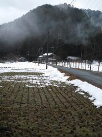 曇りで1℃のあさ・・・ますます雪解けが朽木小川・気象台より - 朽木小川・気象台より、高島市・針畑・くつきの季節便りを!