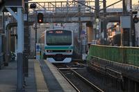 夕暮れの成田線 2021.01.16 - 写真ブログ