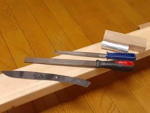 鍛造ナイフを作る-2 - 魚眼アンテナ