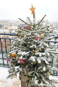 束の間のパリの雪遊び - パリときどきバブー  from Paris France
