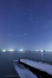 福島潟冬景色 - デジタルで見ていた風景