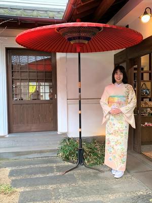 🌸華やかな訪問着を纏い、茶道の初釜へ🌸 - 16代目精進日記