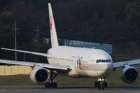 旧塗装時代のB777 - まずは広島空港より宜しくです。