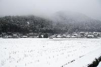 雪景色@美山茅葺きの里其の一 - デジタルな鍛冶屋の写真歩記