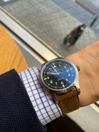 IWC マーク15 & NOSTIME ヌバック・ココア - 5W - www.fivew.jp