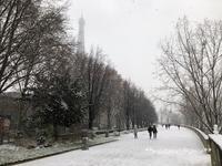 パリの雪景色 - はんどめいど☆Time