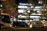 心斎橋のブランドショップ(その1)  心斎橋の夜景 - レトロな建物を訪ねて