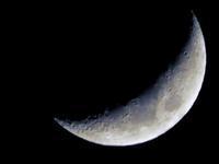 昨日の月と今日の月 - 写真撮り隊の今日の一枚2