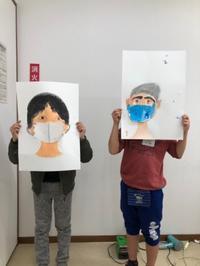 稲沢市、荻須記念美術館、子どもわくわく美術講座、作品1 - 大﨑造形絵画教室のブログ