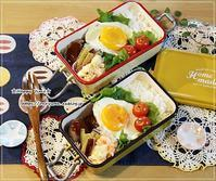 ロコモコ弁当とパン焼き♪ - ☆Happy time☆