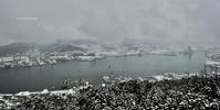 雪の鍋冠山展望台 - A  B  C