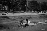 賀茂川 散歩 -13- - ◆Akira's Candid Photography