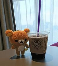 33. Coffee Bean & Tea Leaf で朝コーヒー@ソウル・宣陵 - カステラさん