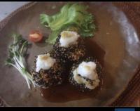 里芋の胡麻団子 - ナチュラル キッチン せさみ & ヒーリングルーム セサミ