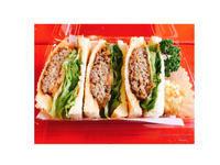 ハンバーグサンドイッチ - 一ツ星紅茶堂