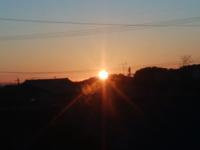 日の出 - 日々の風景