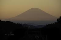 大寒の富士山と月。そして・・。 - MIRU'S PHOTO