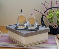 菱餅型のディスプレイボックス - Tea Time