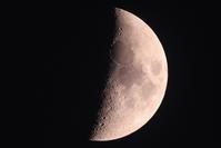 今日の月ときぼう(ISS) - 月の沙漠を