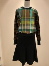 圧縮ウールのスカート - ★ Eau Claire ★ Dolce Vita ★