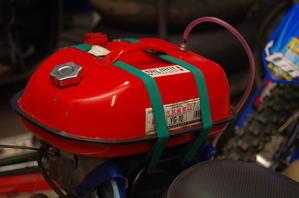 【VANVAN】予備タンク改造からの試運転ツーリング -
