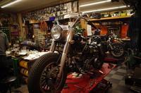 火曜日の授業風景~巷で使われていないものはその理由があるのね~ - Vintage motorcycle study