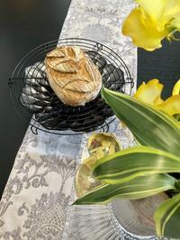 『和風パン・オ・セーグル』 - カフェ気分なパン教室  *・゜゚・*ローズのマリ