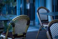 Very Few Sit At A Terrace Table - SILENT SOLILOQUY