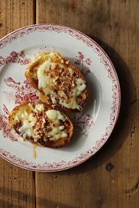 丸パンでフレンチトースト - Nasukon Pantry